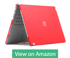 """Red Color 15"""" Inch Case for Surface Book 2 by iPearl mCover"""