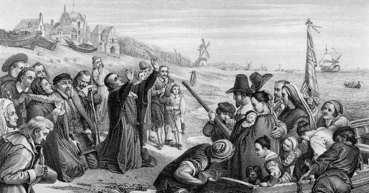 Pilgrims had Nothing to Eat - Praying to God