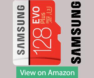Samsung EVO Plus microSD 128 GB