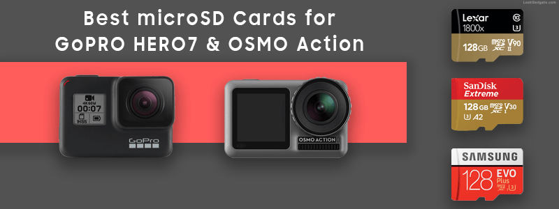 Best micro SD Cards for GoPro and DJI