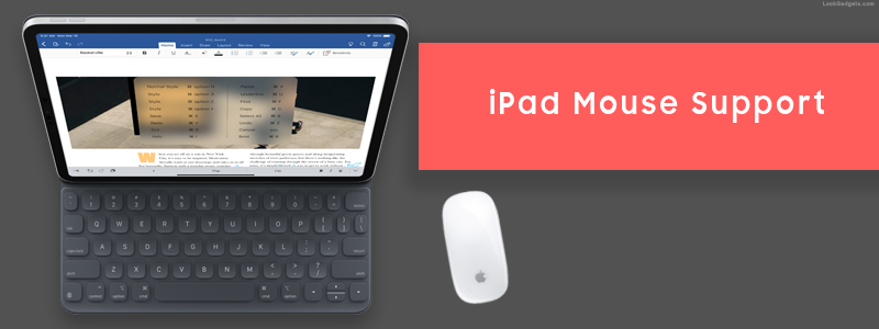 96bf322d035 iPad Mouse Support in iPadOS – Apple trying to compete Microsoft Surface