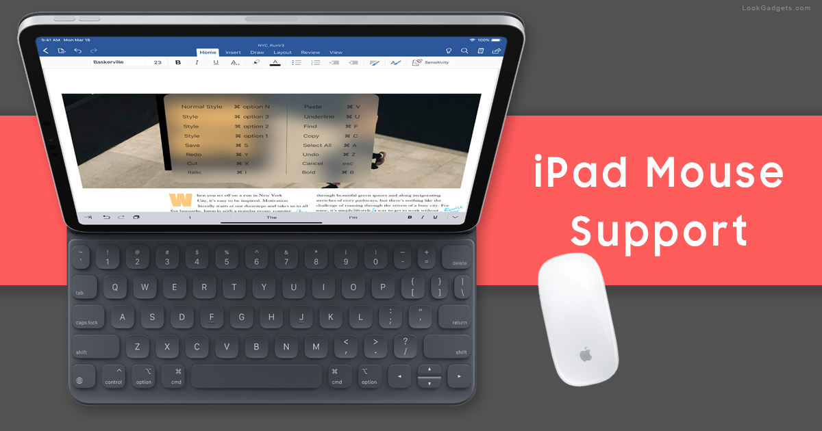 iPad Pro with Smart Key and Mouse