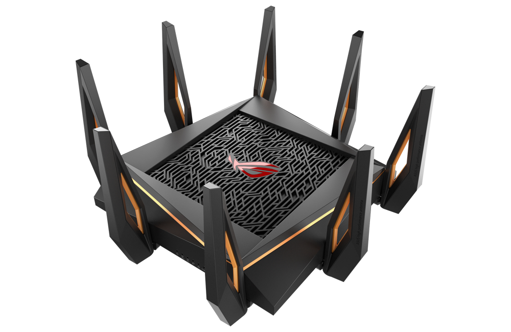 ASUS ROG Rapture GT-AX11000 - Best 10 Gigabit 802.11ax Wi-Fi Router for Very Large Homes and High speed Internet
