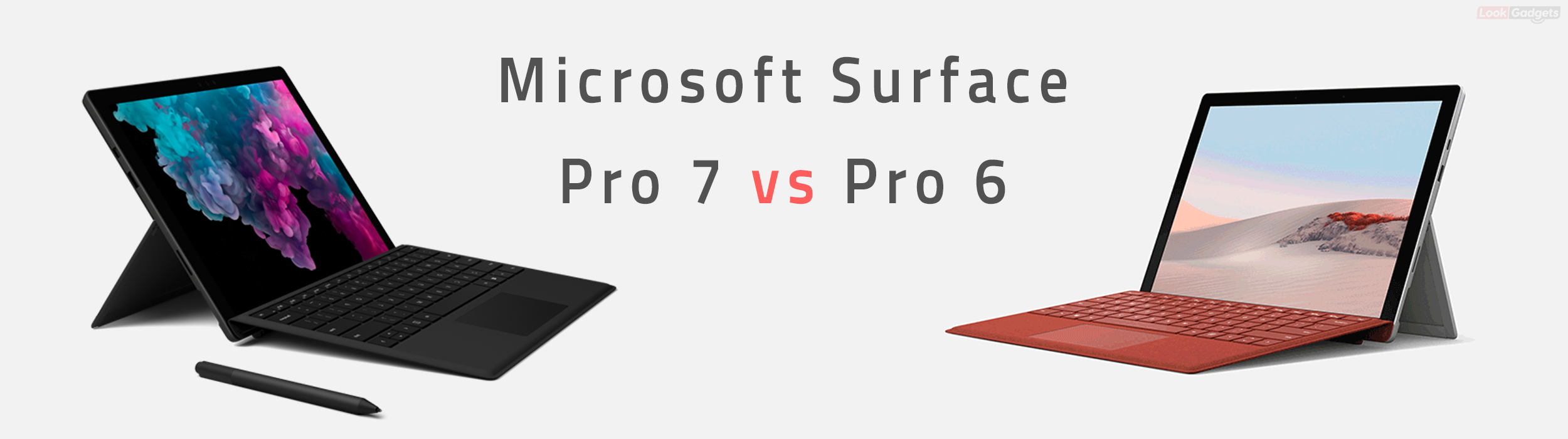 The Surface Pro 7 vs 6 comparison, specifications, and cheat sheet