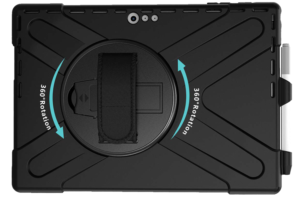 ProCase Hybrid Protective Case for Pro 7 with Hand Grip
