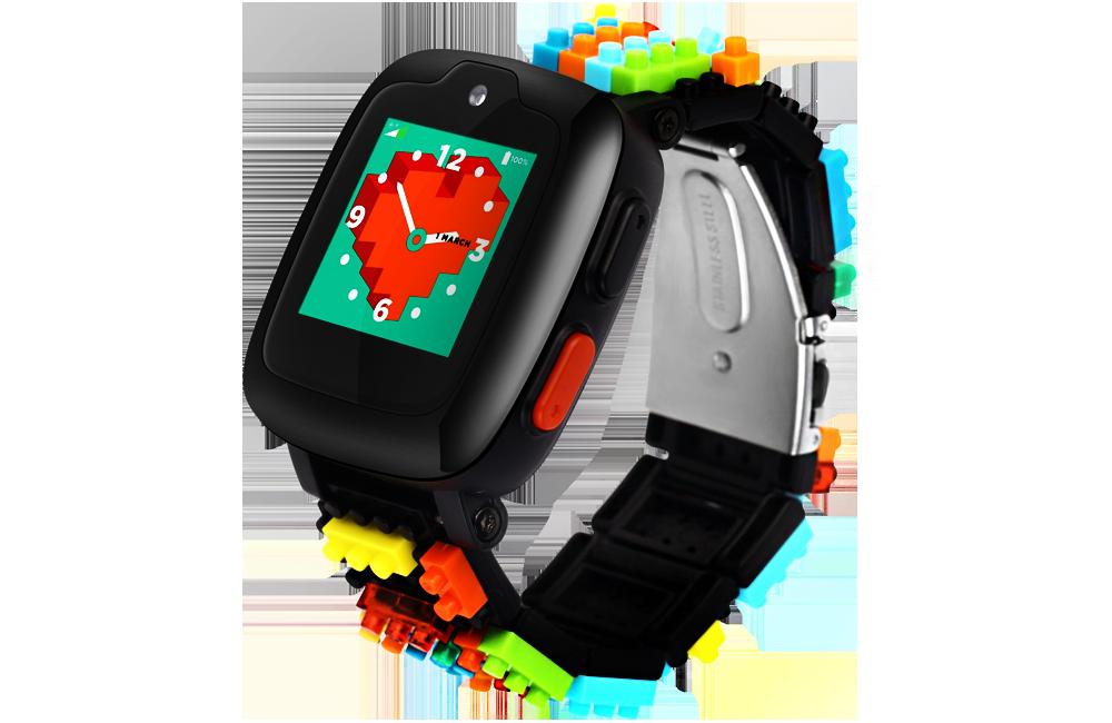 Omate X Nanoblock - Kids Phone watch with 2 way video calls