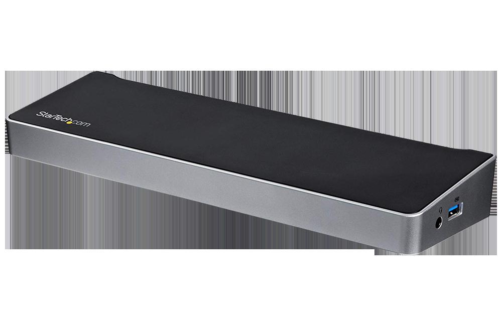 StarTech Triple Monitor USB 3.0 Laptop Docking Station (USB3DOCKH2DP)