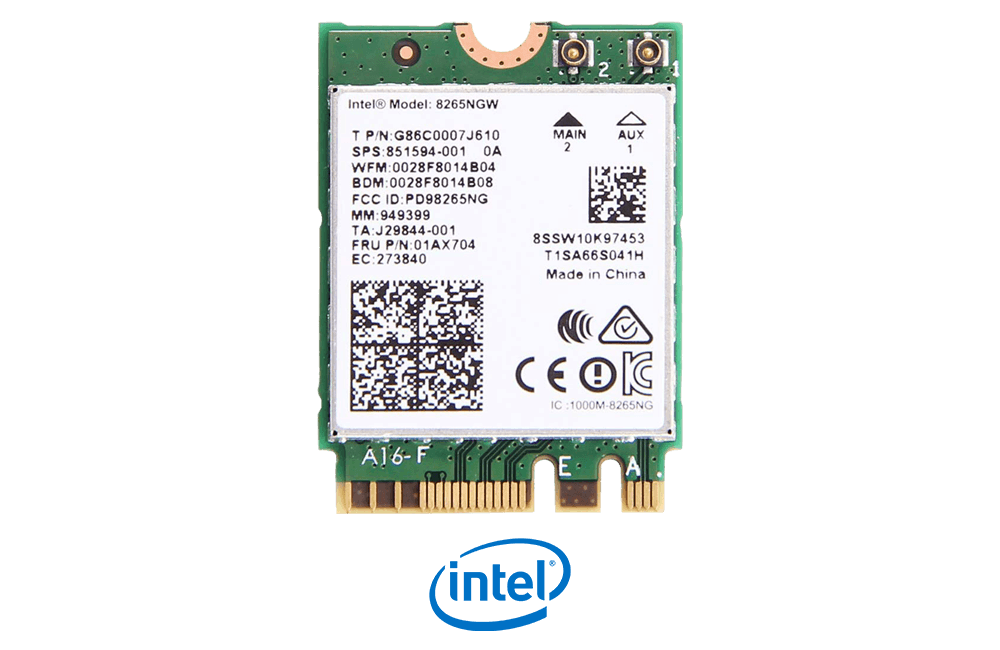 Intel Wireless AC 9260 NGW with Bluetooth 4.2