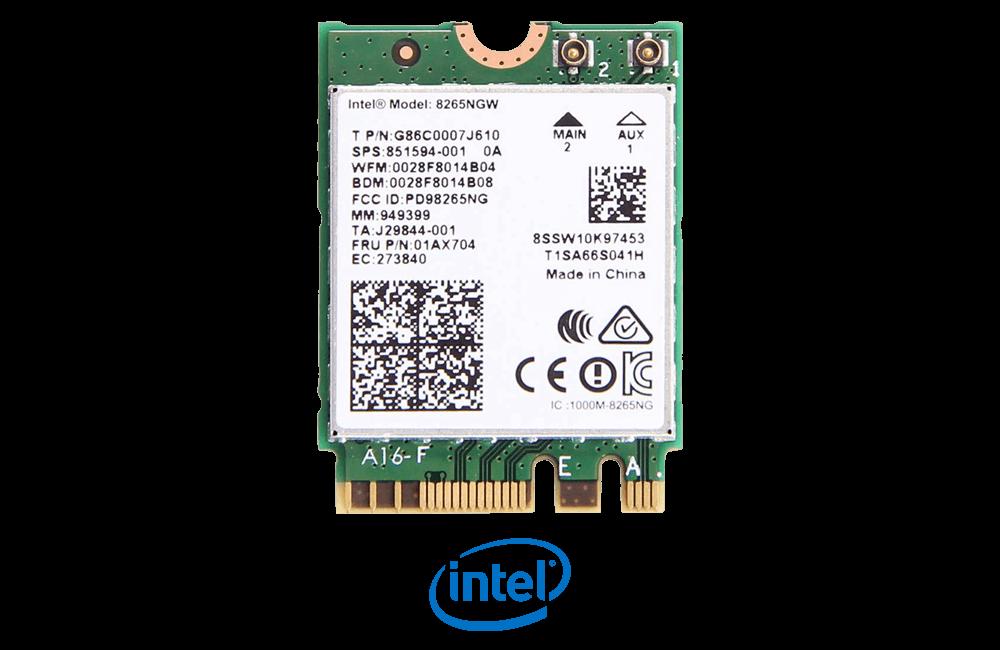 Intel Wireless AC 9260 NGW with Bluetooth 4.2
