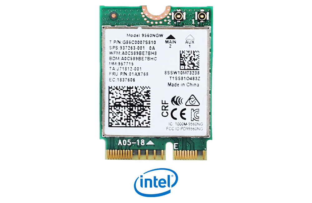 Intel Wireless AC 9560 with Bluetooth 5