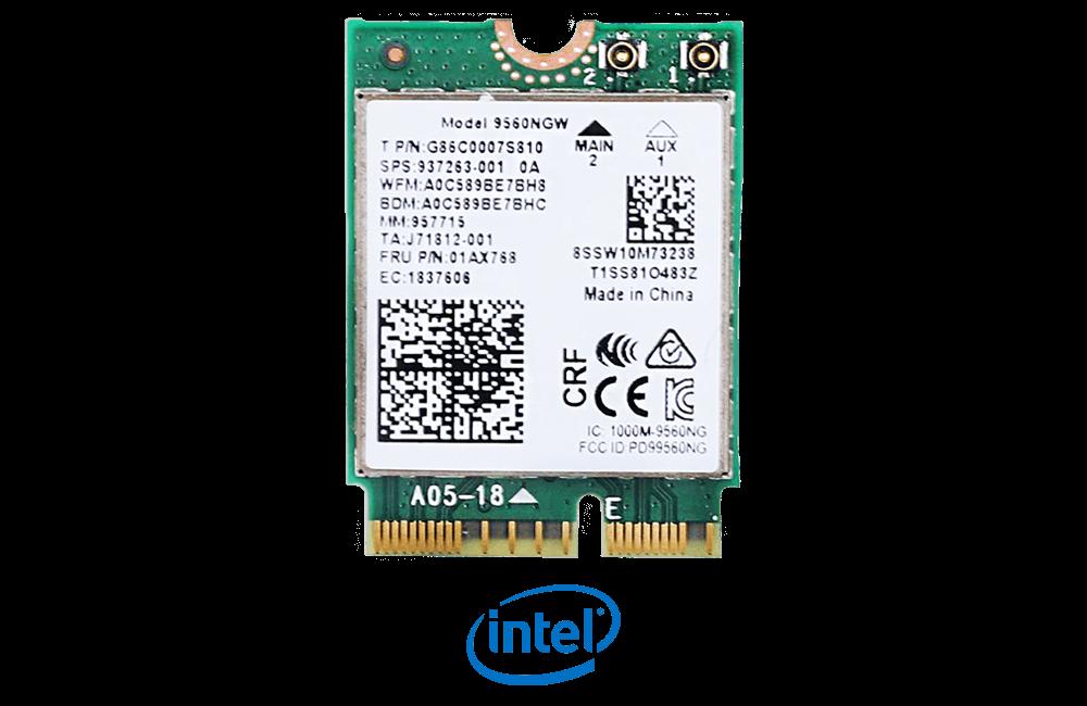 Intel Wireless AC 9560 with Bluetooth 5