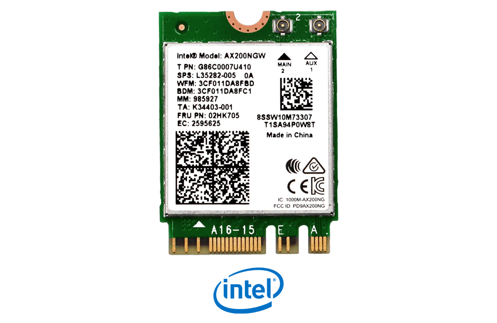 Intel AX200NGW M.2 Wi-Fi 6 Card for Laptop