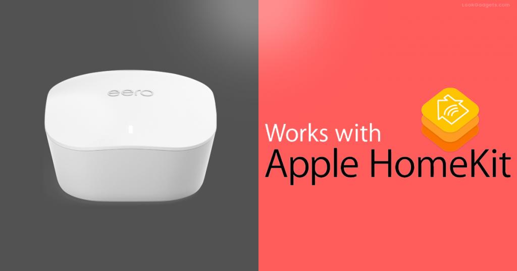 Eero Update: now support Apple's HomeKit