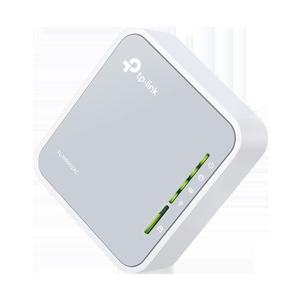 TP-Link AC750 Portable Nano Travel Router (TL-WR902AC)