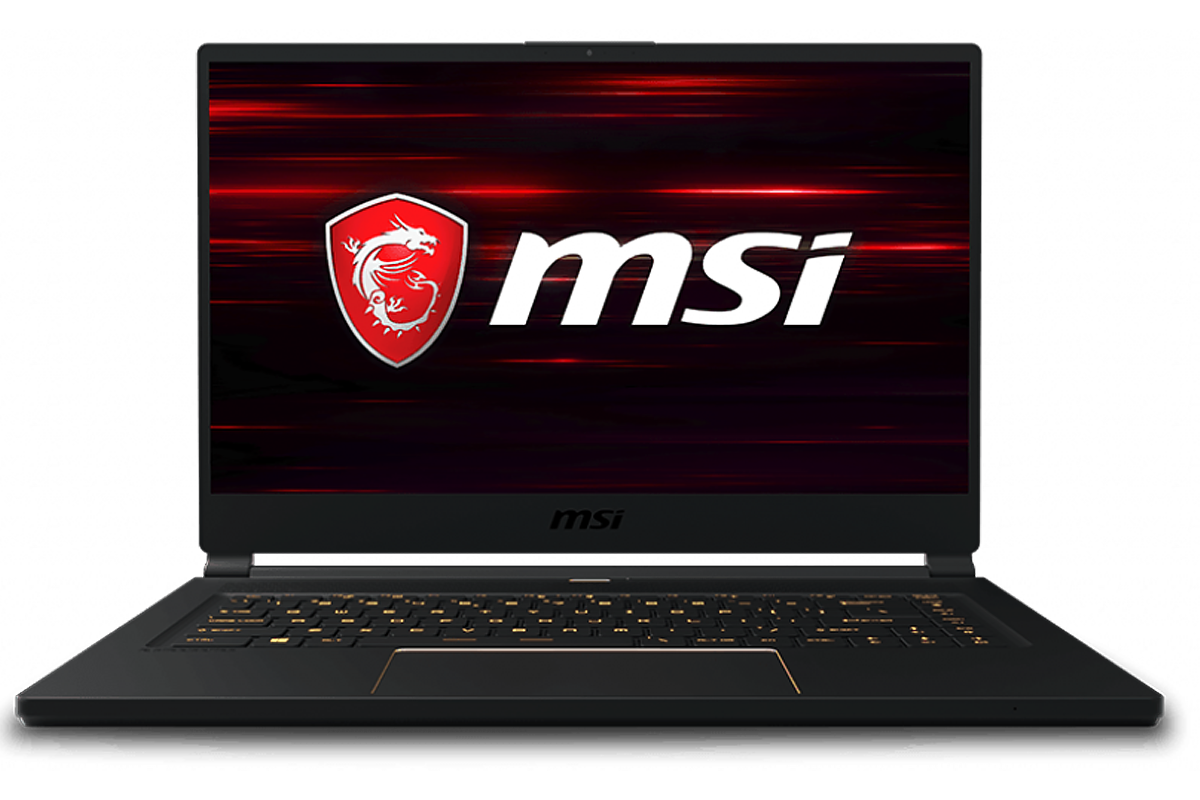 MSI GS65 Stealth with Razor Thin Bezel, 144Hz Display, i7-8750H, NVMe SSD, 16GB RAM, and RTX 2070