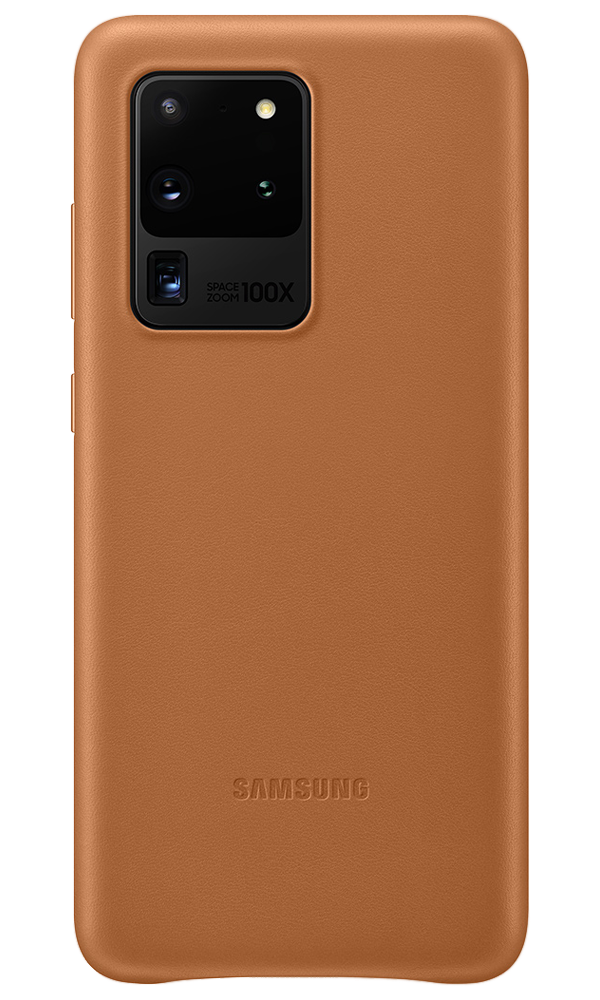 Galaxy S20 Ultra Leather Back Cover