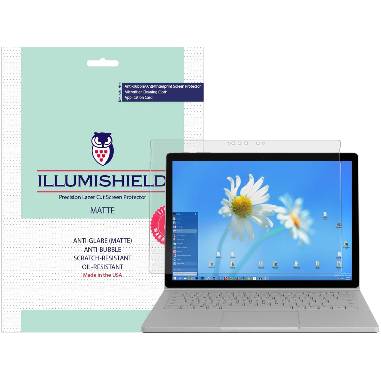 "Screen Protector Film Cover for 15"" Microsoft Surface Book 2 MATTE Skinomi"