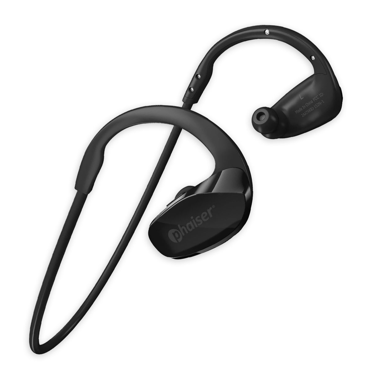 Phaiser Flexcore BHS-530 Stereo Wireless Earbuds