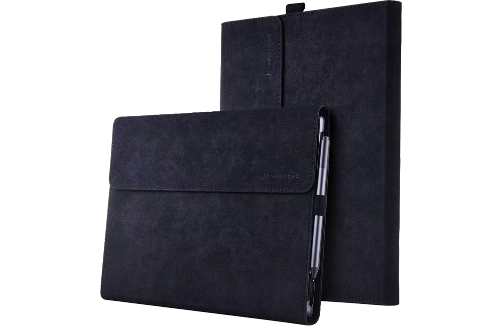 XISICIAO Surface Pro X Folio Carrying Case