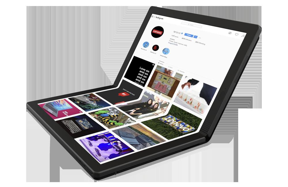 Lenovo ThinkPad X1 Fold - The foldable OLED Laptop with 5G