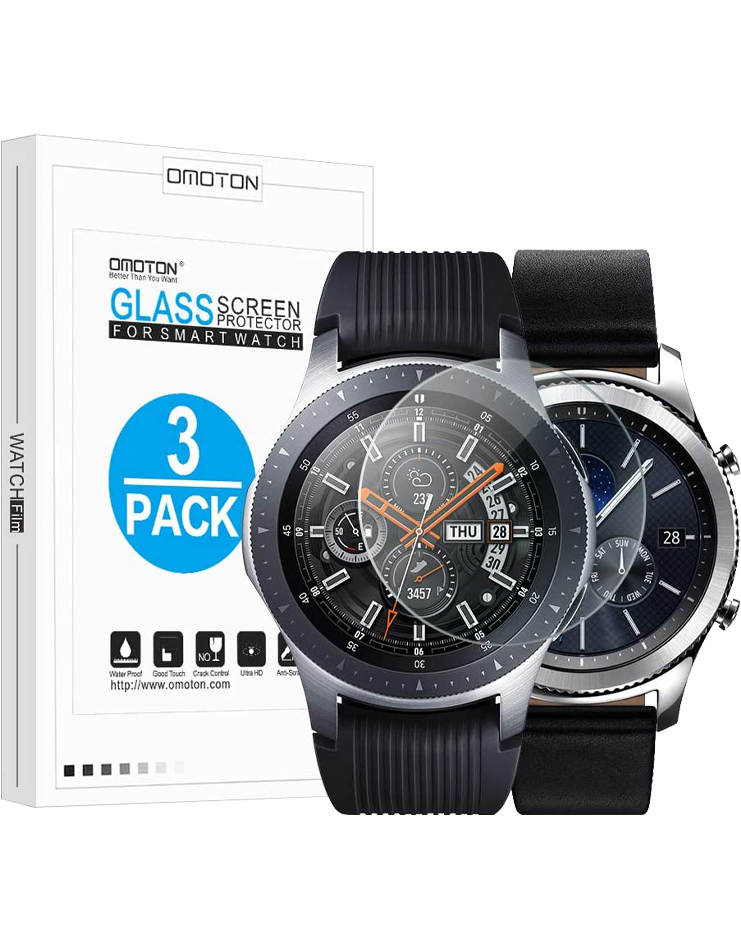 OMOTON Tempered Glass for Galaxy Watch