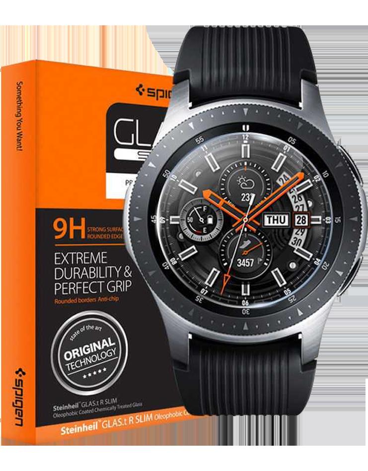 Spigen GLAS.tR Slim Galaxy Watch Screen Protector