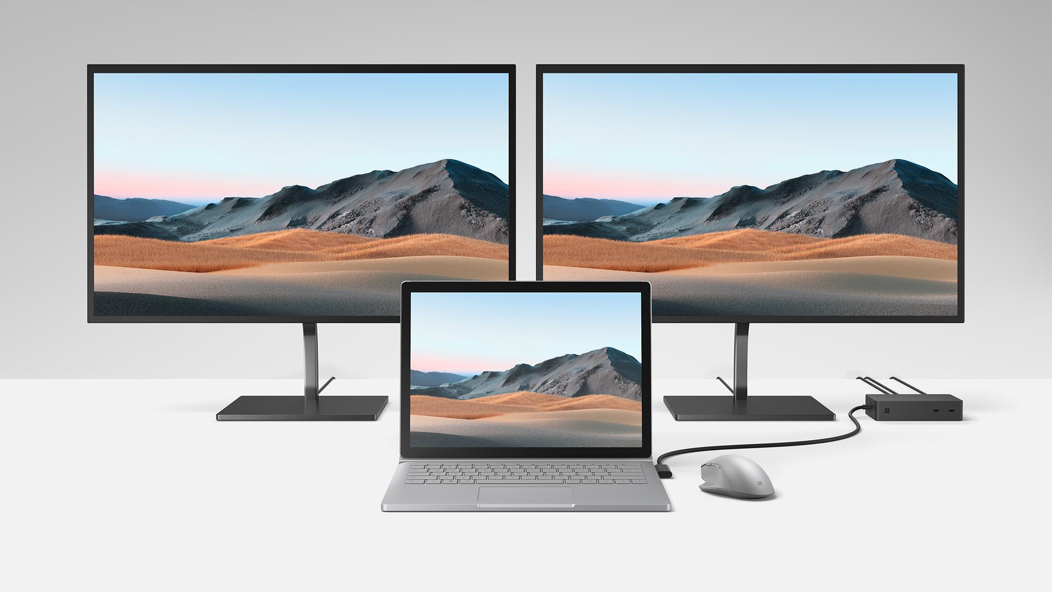 Surface Dock 2 and USB-C Travel Hub