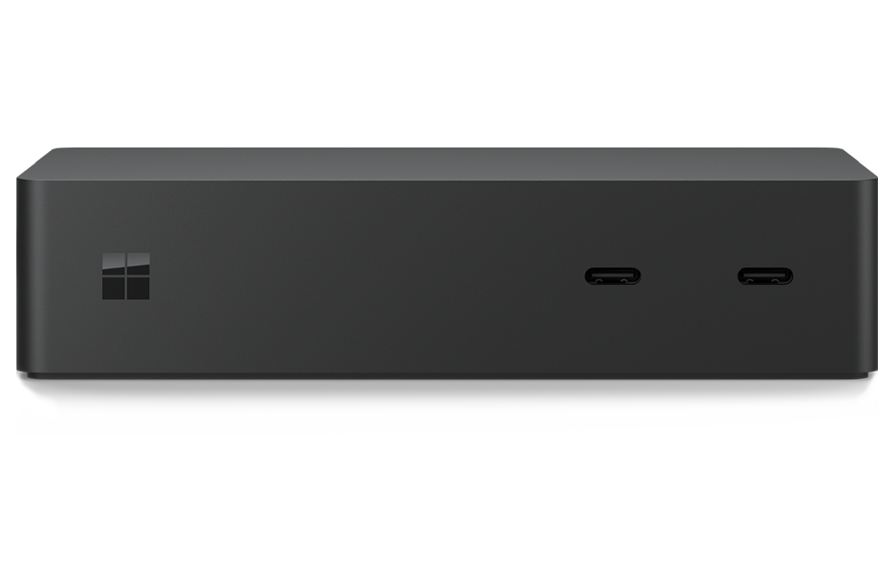 New Surface Dock 2 with four USB-C ports and dual 4K monitor support