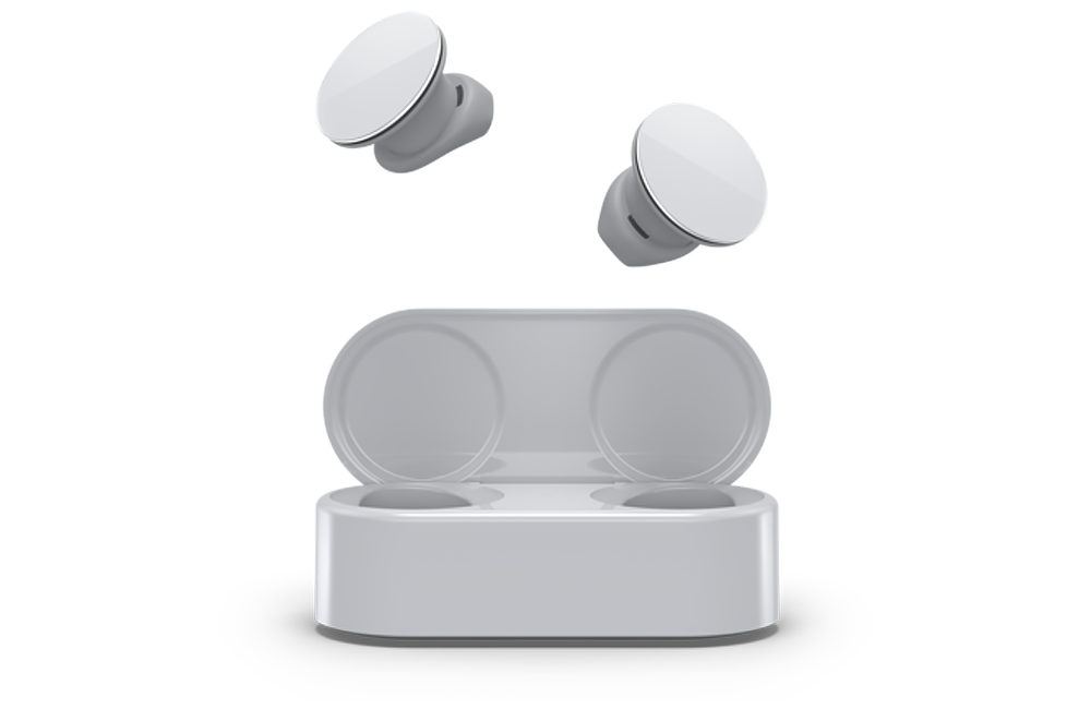 Use Surface Earbuds for office presentations and business needs