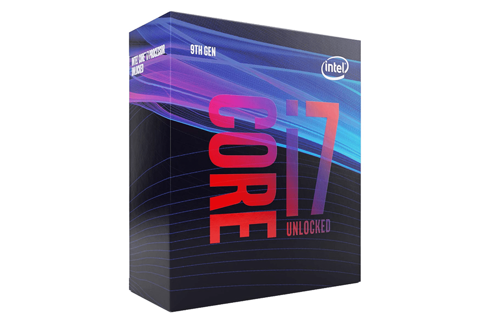 Intel Core i7-9700K Unlocked Processor for Virtual Reality System