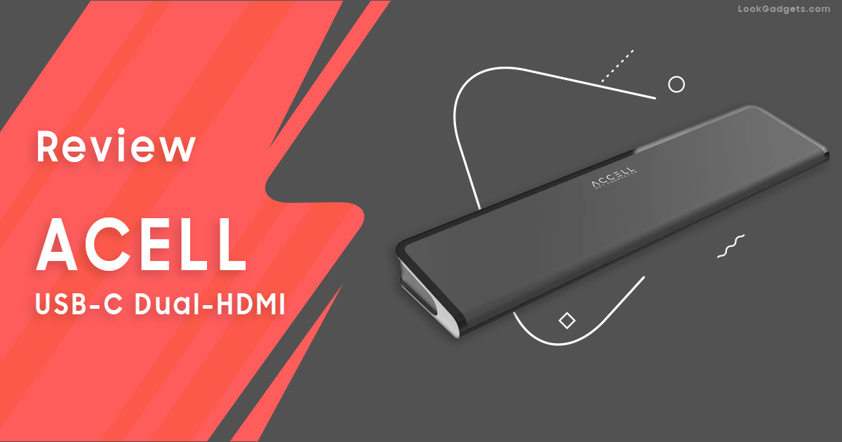 Accell K31G2-001B USB-C Docking Station with Silicon Motion InstantView