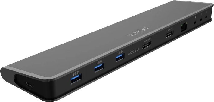 Type of Ports in Accell USB-C Docking Station