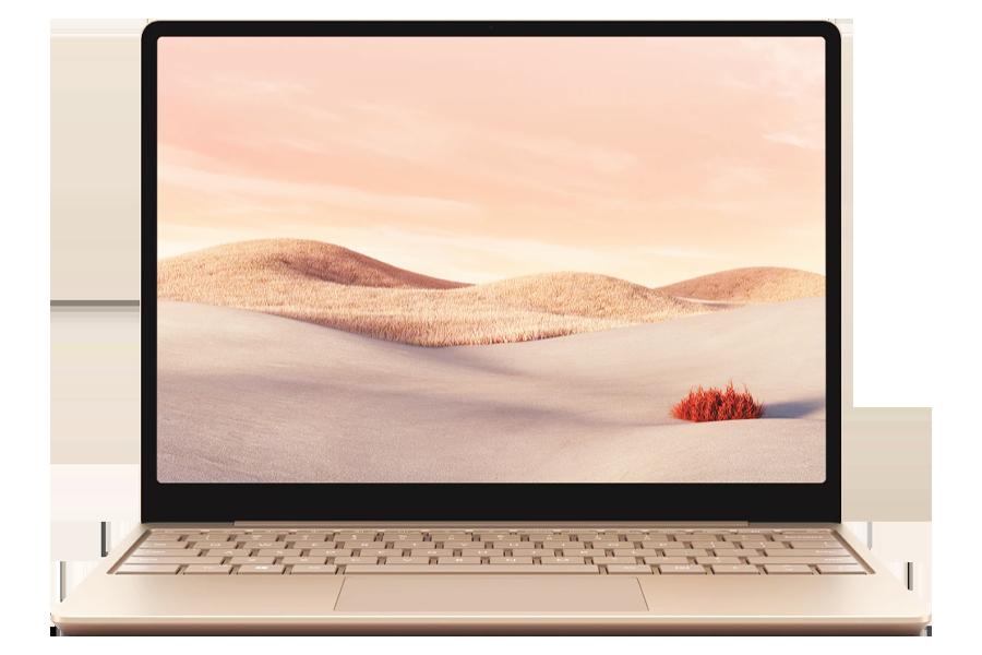 Microsoft Surface Laptop Go in Sandstone Color